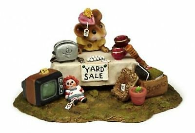 "Wee Forest Folk M-202  ""The Yard Sale""  Mint"