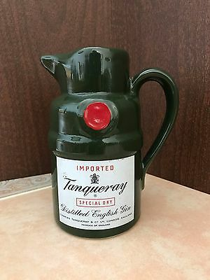 Vintage Imported Tanqueray Special Dry Distilled English Gin Pitcher