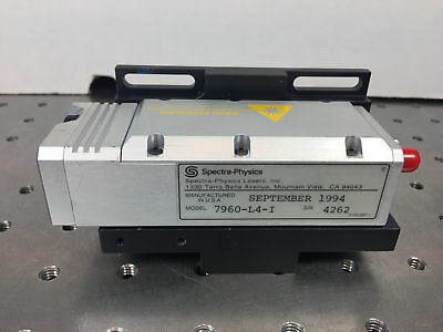 Spectra Physics 7960-L4-I Diode Pumped Q-Switched Laser Head Nd:YLF 1047nm