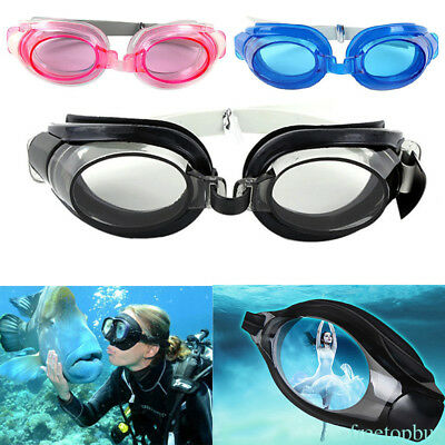 3-in 1 Swimming Goggles Anti-fog Swimming Water Pool Glasses for Adults Kids GWR