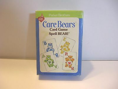 Vintage 1983 Care Bears Card Game Spell BEAR by Parker Brothers Complete