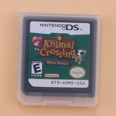 used animal crossing wild world for nintendo ds cad. Black Bedroom Furniture Sets. Home Design Ideas