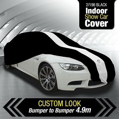 Autotecnica  2/196 Black Indoor Show Car Cover Fleecy Lined For Paint Protection