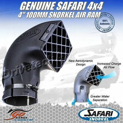 "Genuine Safari Replacement 4"" 100Mm Snorkel Air Ram New Design 000-135-900 Head"