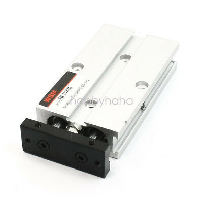 TN10X30  Dual Action 10mm Bore 30mm Stroke Double Rod Pneumatic Air Cylinder