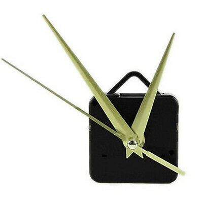1pc Clock Quartz Movement Mechanism Long Gold Spindle Hand Wall Repair Parts