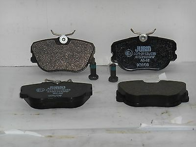 Jurid 571535J Disc Brake Pad Set BMW 3 series MBZ 190D 190E Saab 900 9000
