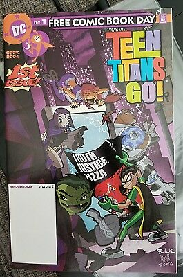 Teen Titans Go ! DC 1st issue free comic book day FCBD