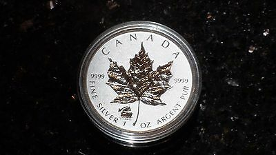 2012 TITANIC Privy LIMITED MINT Canadian 1 Troy oz .9999 Silver Maple Leaf Coin