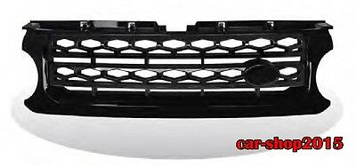MIT MATT BLACK FRONT GRILLE FOR LAND ROVER L319 DISCOVERY 4 2010-2013