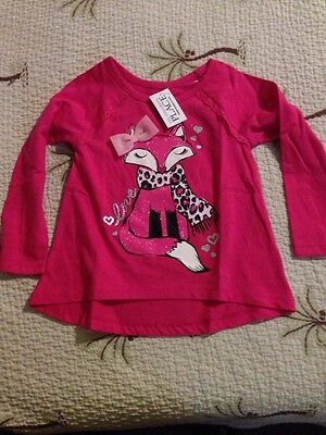 Girls 2T Adorable Pink Children's Place Long Sleeve Top NWT