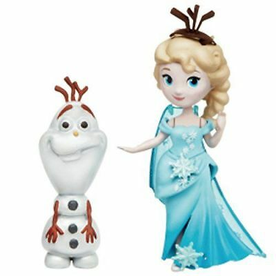 Disney Frozen Little King dam Doll Elsa & Olaf from Japan with tracking