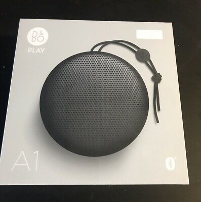 Bang & Olufsen Beoplay A1 Portable Bluetooth Speaker- Black