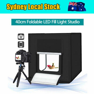 Professional 40 X 40cm Mini Portable LED Photography Studio Light Box Tent Kit