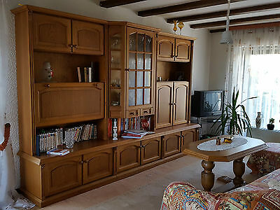massiver alter wohnzimmerschrank eur 50 00 picclick de. Black Bedroom Furniture Sets. Home Design Ideas