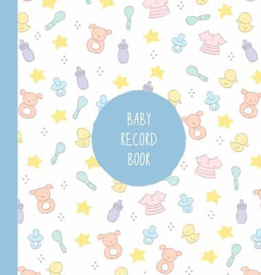 Baby Record book Blue Boy