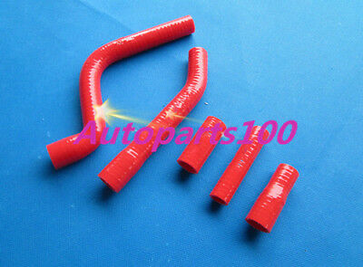 For Yamaha YZ250F radiator Red silicon hose 2010 2011 2012 2013
