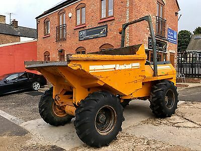 1995 Benford Pt6000 6 Ton Dumper Good Tyres Ex Training Company In Good Order