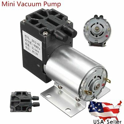 DC12V 120kpa 5L/min Mini Vacuum Pump Negative Pressure Suction Micro Pump, 6W US