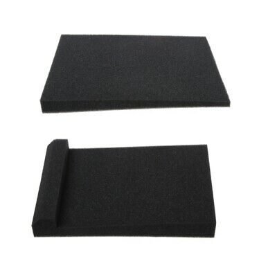 Soundproof Acoustic Sound Thick Absorption Pyramid Studio Foam Board 50x50x3cm