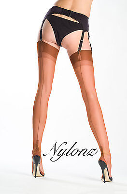 Gio Fully Fashioned Stockings - SPICE - NEW COLOUR! Perfects