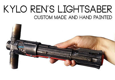 Kylo Ren Lightsaber Hilt Replica prop - Star Wars The Force Awakens