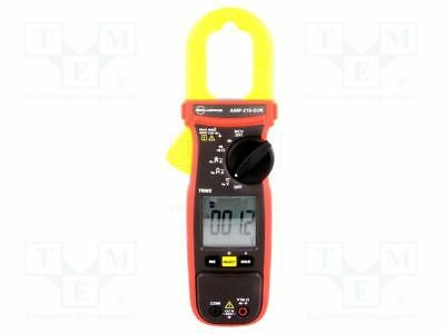 1 pcs AC digital clamp meter; Øcable:30mm; LCD (6000), with a backlit