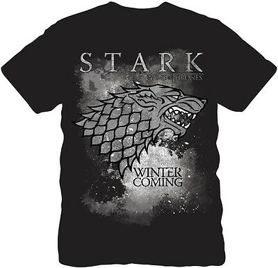 New Graphic Tee Game of Thrones  Winter is Coming Stark Adult Size S