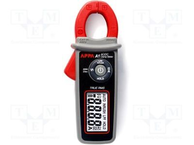 1 pcs AC/DC digital clamp meter; Øcable:23mm; Sampling:2x/s; True RMS