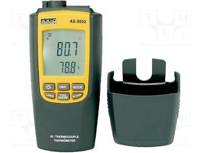 1 pcs Temperature meter; LCD 4 digits, with a backlit; Resol:0.1°C