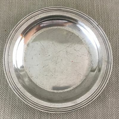 Antique Christofle Bowl Silver Plated Serving Dish Large Heavy