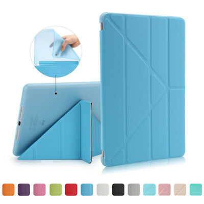 Luxury Magnetic PU Leather+PC Shockproof Stand Case for New iPad 10.5&9.7 2017