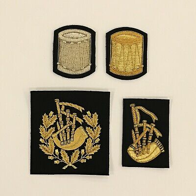 Pipe Band Rank Patch