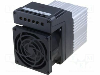 1 pcs Blower heater; CIRRUS 80; 300÷600W; 230VAC; IP20; 82x82x110mm