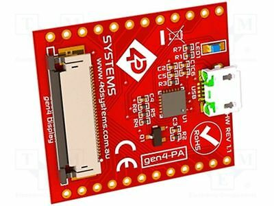 1 pcs USB to ZIF 30 adapter; Interface: GPIO, SPI, serial; -15÷65°C