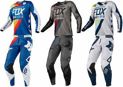 Fox Racing Mens 360 Draftr Dirt Bike Jersey & Pants Kit Combo MX ATV Off-Road 18