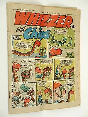 Whizzer and Chips Comic 28 April 1984
