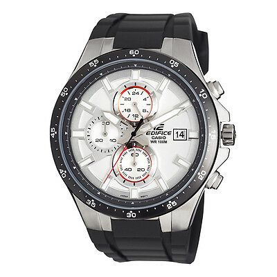 Casio Edifice Men's EFR519-7AV Quartz Chronograph Resin Strap 42mm Watch