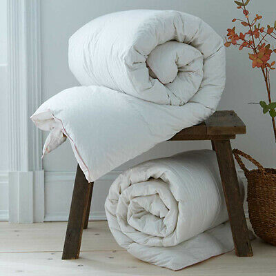 White 85% Goose Feather & 15% Down Duvet Quilt -LUXURIOUS - 13.5 and 15 ALL TOGS