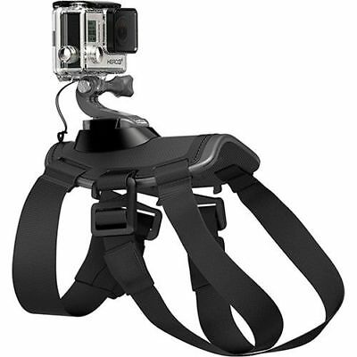 Fetch Dog Pet Harness Chest/Back Mount Strap For ALL GoPro Cameras - ADJUSTABLE!