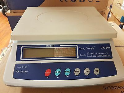 Easy Weigh PX-60 Price Scale EasyWeigh PX60 Weigh Scale 60 LB USED