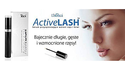 ACTIVE LASH EYELASH EYEBROW SERUM Long Lashes Lbiotica Natural Growth Enhancing