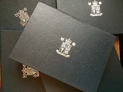 Royal Mint UK proof coin sets 1983 - 2017; deluxe sets