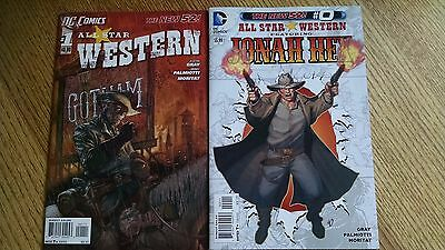 DC Comics New 52 Jonah Hex Western #0 -34 First Printing Complete Set Free Ship