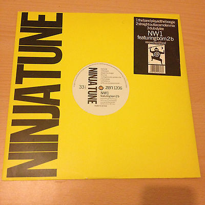 """NW1 - The Band Played The Boogie Vinyl, 12""""     Ninja Tune  1991"""