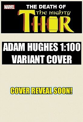 Mighty Thor #700 Adam Hughes 1:100 Variant Cover FREE SHIPPING