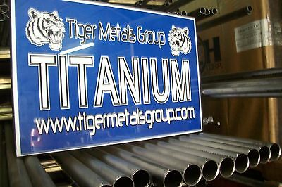 Grade 2 CP Titanium Tube (2'' OD / 0.060'' Wall / 28.625'' Length) welded #396jm