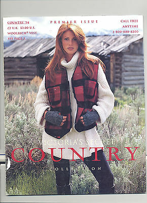 Victoria's Secret Country Collection Premier Issue Angie Everhart Cover '94 Rare
