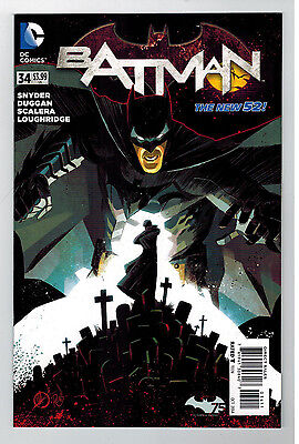 BATMAN Vol 2 #34   - The New 52  / 2014 DC Comics 1st Printing • $0.99