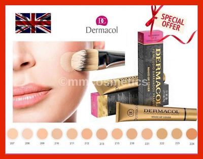 Dermacol High Covering Make-Up Foundation Legendary Film Studio Hypoallergenic